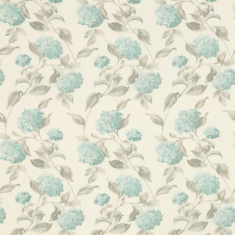 Hydrangea Floral fabric from Laura Ashley | Country fabrics | PHOTO GALLERY | Country Homes & Interiors | Housetohome.co.uk