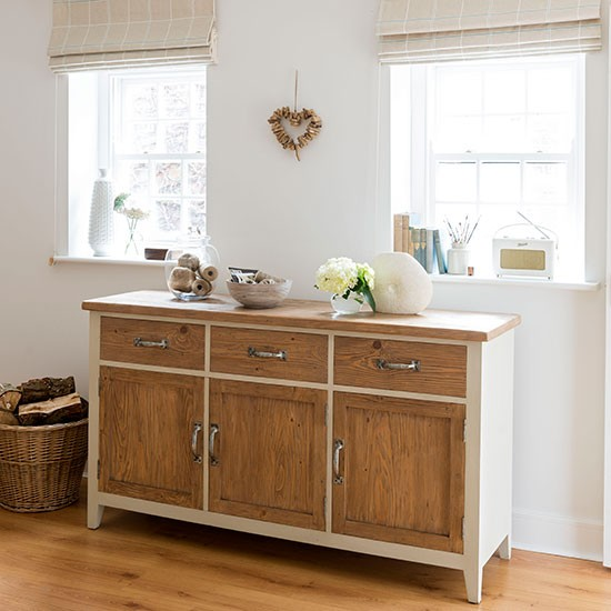 Cream Dining Room Sideboard Decorating Style Affordable