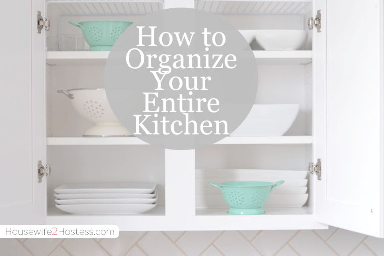 How To Organize Your Kitchen Drawers Housewife2hostess