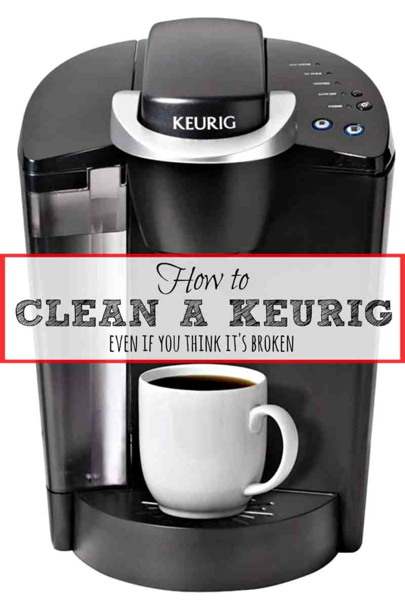 how to fix single cup keurig coffee maker howsto co. Black Bedroom Furniture Sets. Home Design Ideas