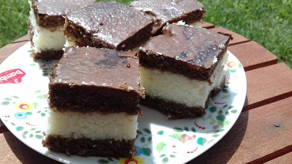 Cocoa Coconut Dessert with Carbs in Trace (Keto Recipe)