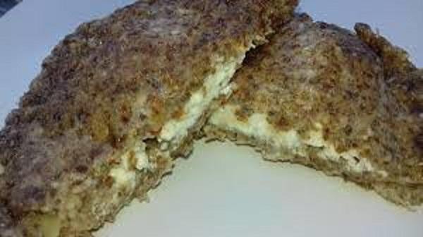Keto Indian Stuffed Bread From The Pan! Gluten-Free Recipe