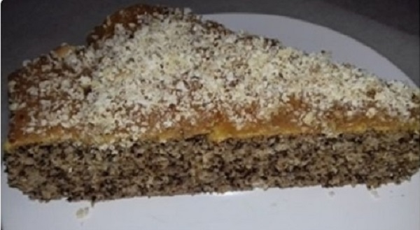 Pecan Cake with Caramel Flavor! Low-Carb Recipe