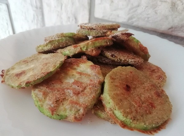 Zucchini Crisps Paleo, and Low-Carb Snack Or Appetizer