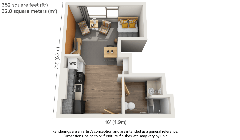 3 Bedroom Apartment Blueprints