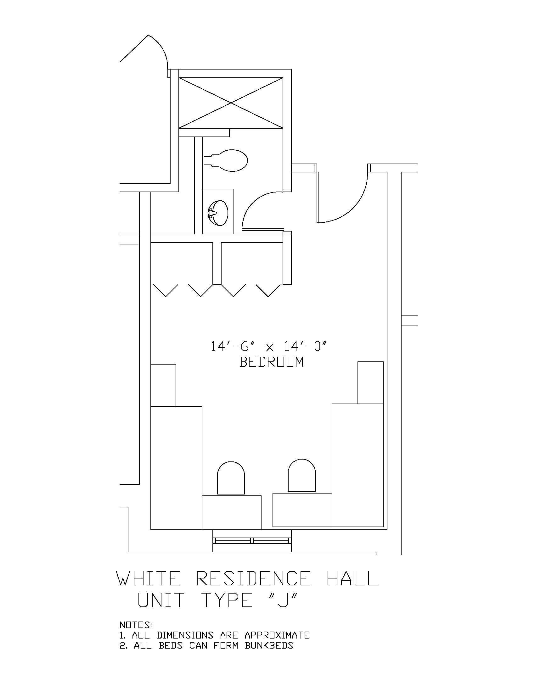 James S White Hall