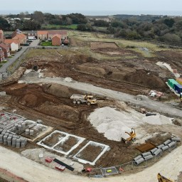 The High Mill development site in Scalby, North Yorkshire.