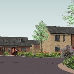 A CGI of LFHA and WDH's joint scheme in Castleford.