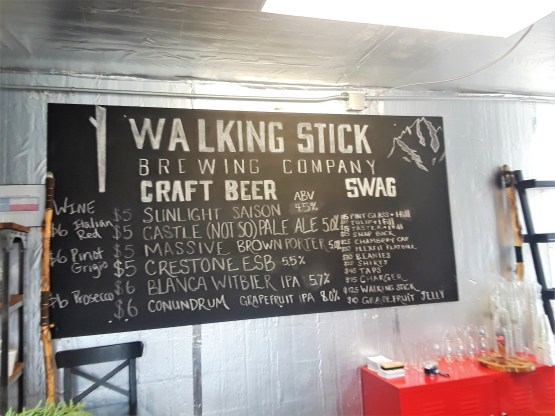 WalkingStickBeerBoard