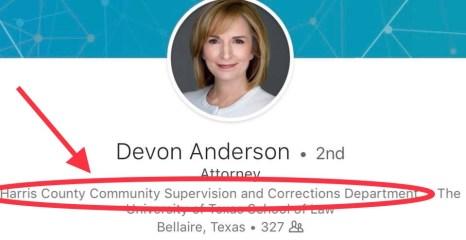 The Return of Devon Anderson