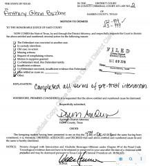 Tony Buzbee's DWI Dismissal