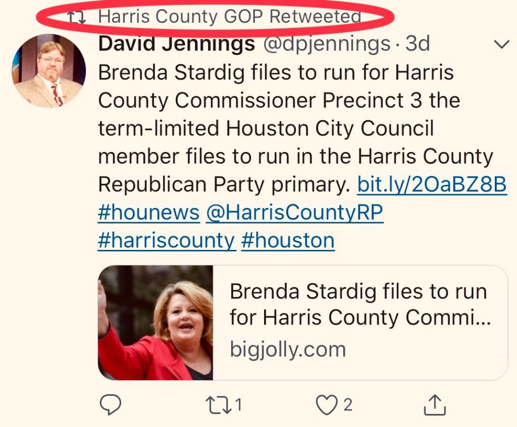 Brenda Stardig Announces