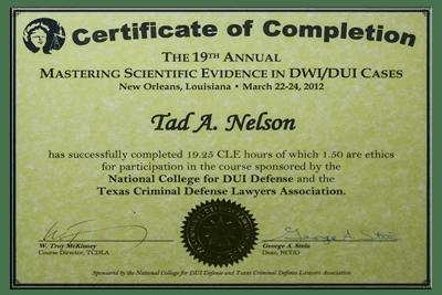 Mastering Scientific DWI Evidence II