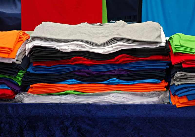 Printing On Polyester T-Shirt