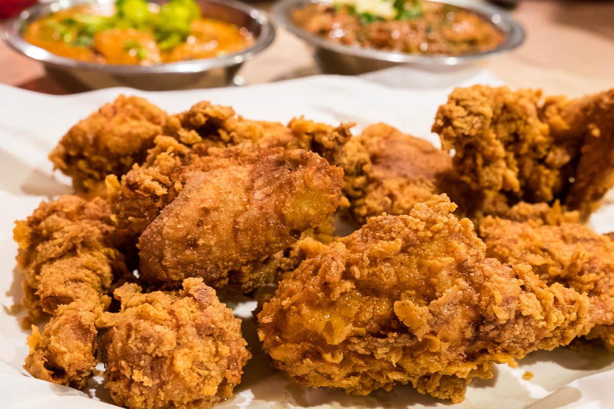Fried Chicken at Himalaya