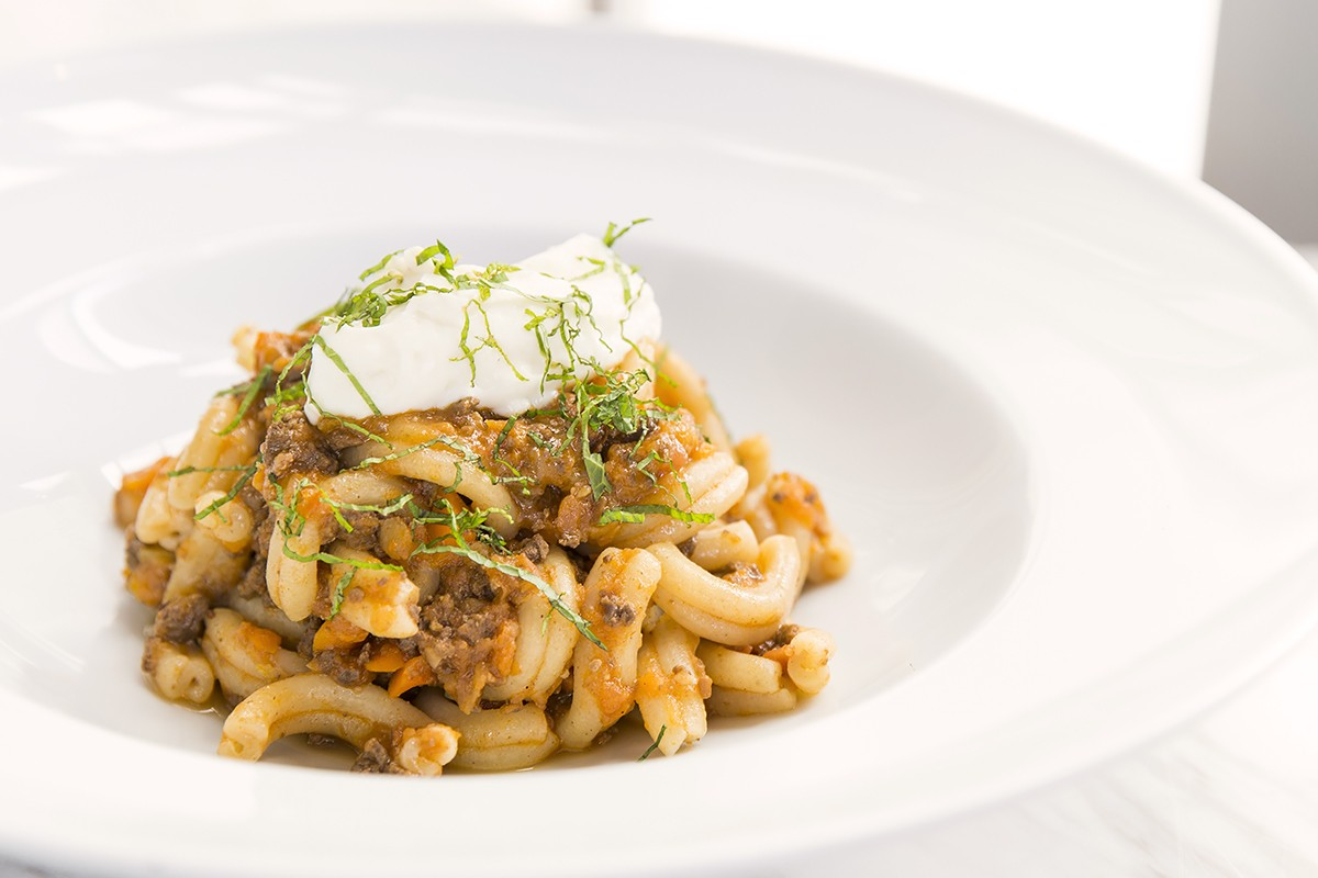 Duck Heart Bolognese