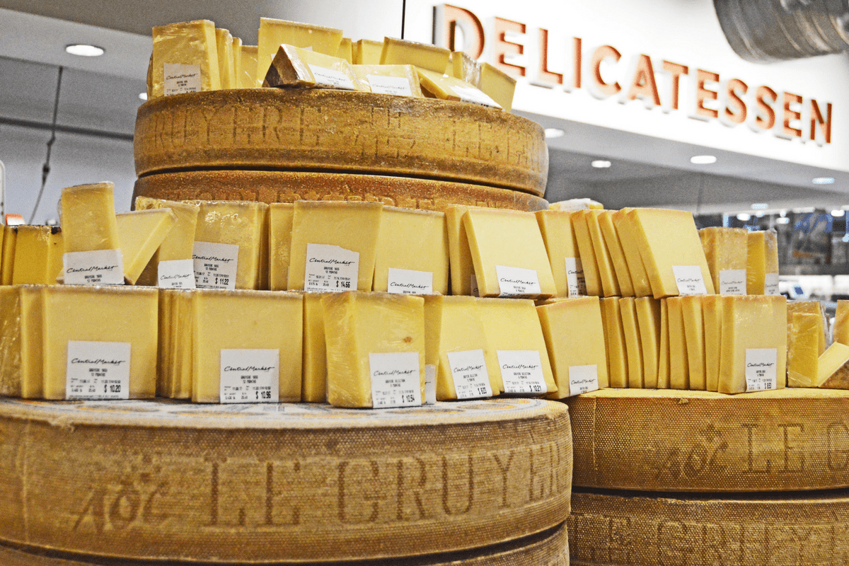 cheese at central market