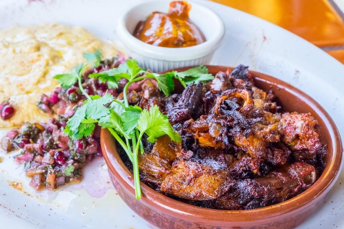 lamb tacos at The Original Ninfa's