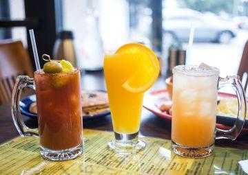 Le Peep brunch cocktails