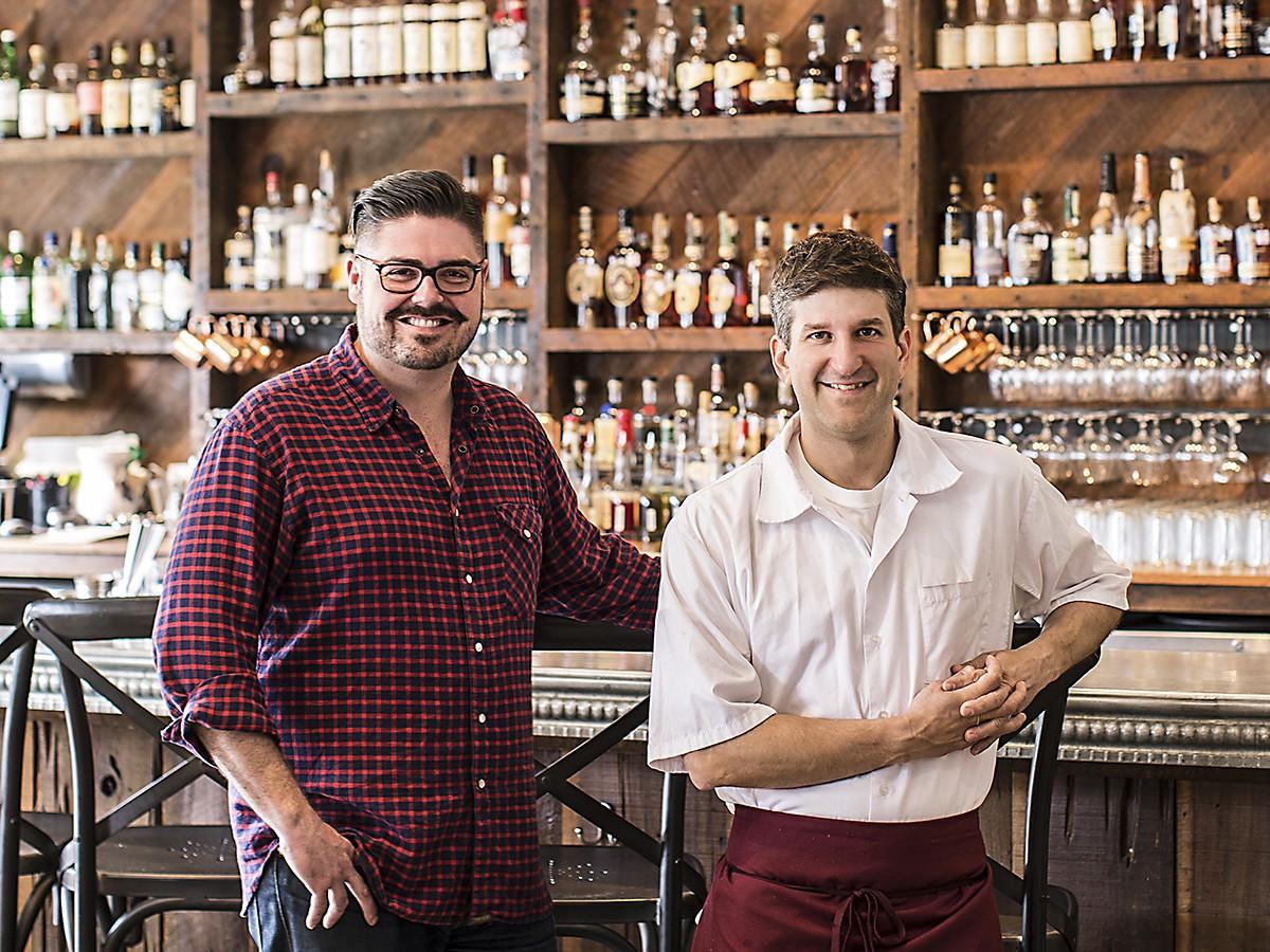 Morgan Weber and Ryan Pera