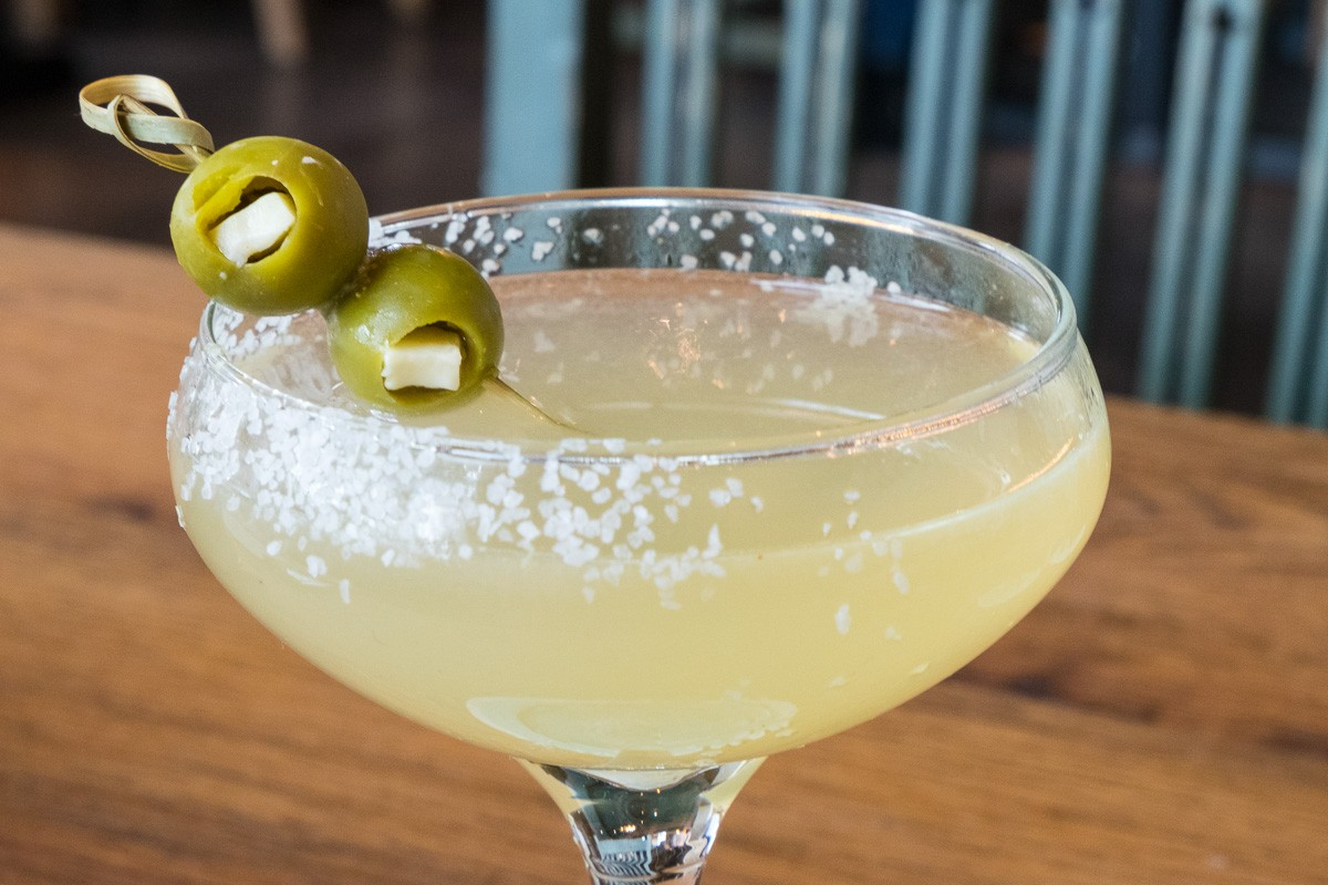 Mexican Martini at Goode Co. Kitchen