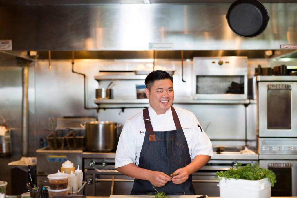 Photo of chef Gary Ly.