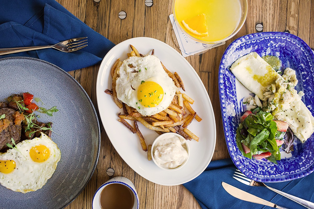 A'bouzy brunch dishes