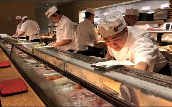 Nobu sushi chefs