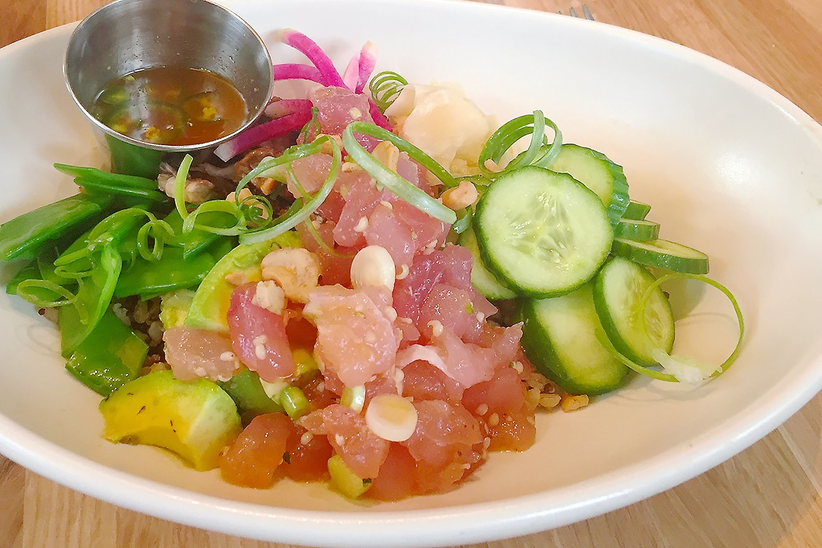 Poke Bowl at True Food Kitchen