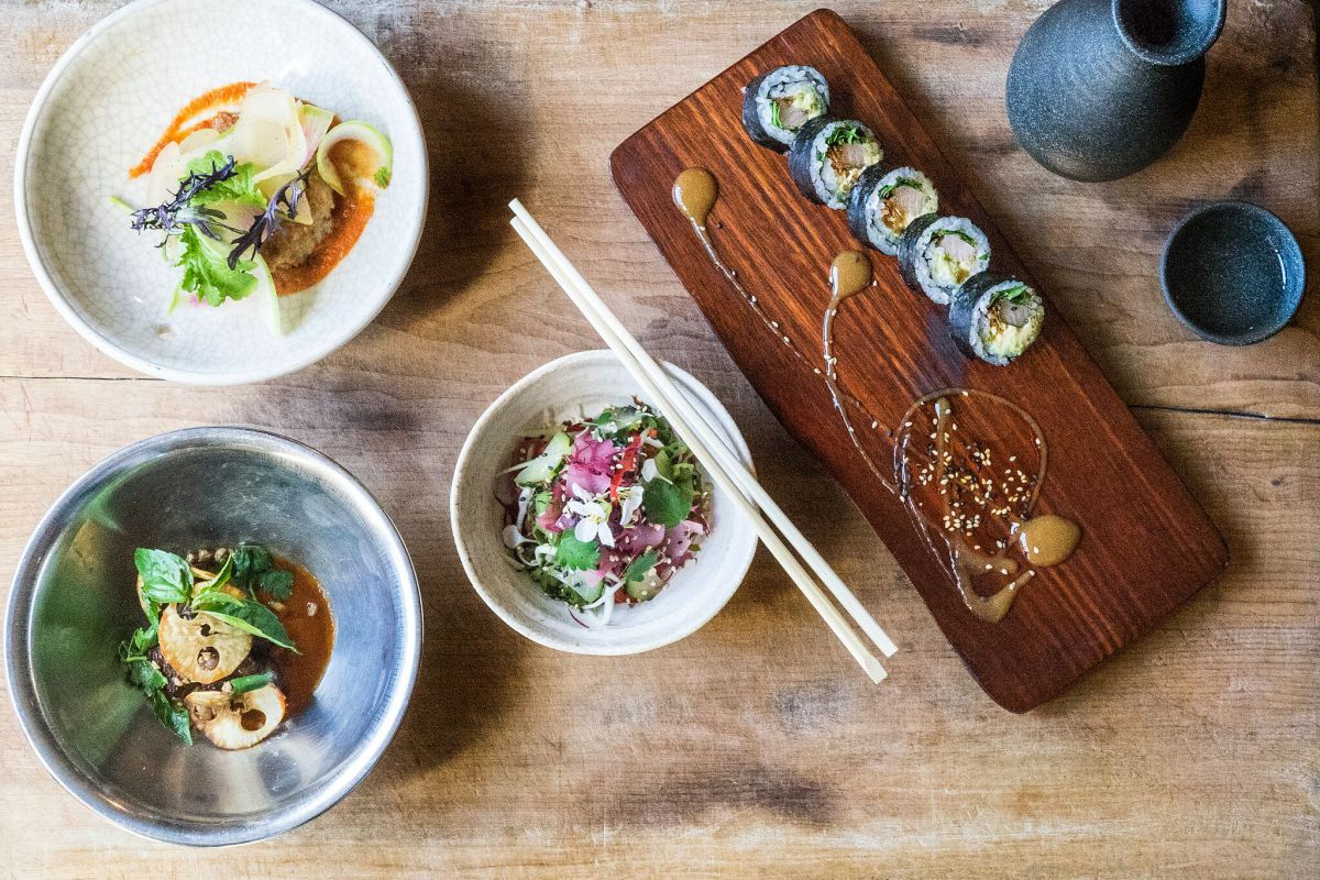 Uchi happy hour dishes