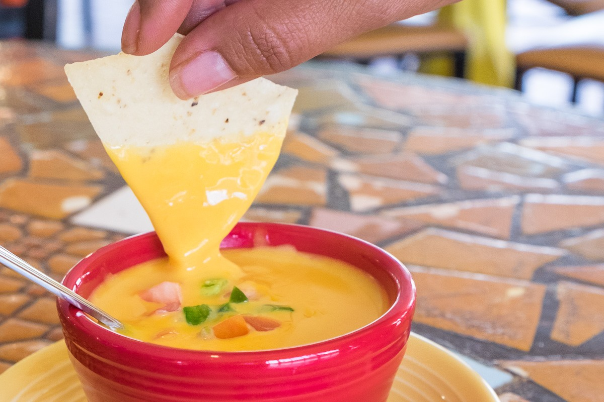 queso at Spanish Village