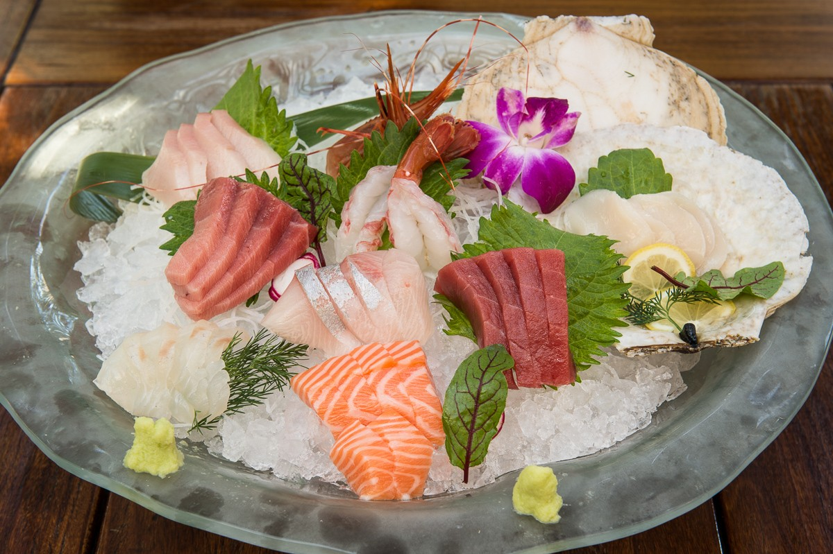 sashimi for two at Kata Robata