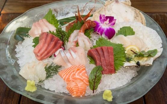 sashimi for two at Kata Robata