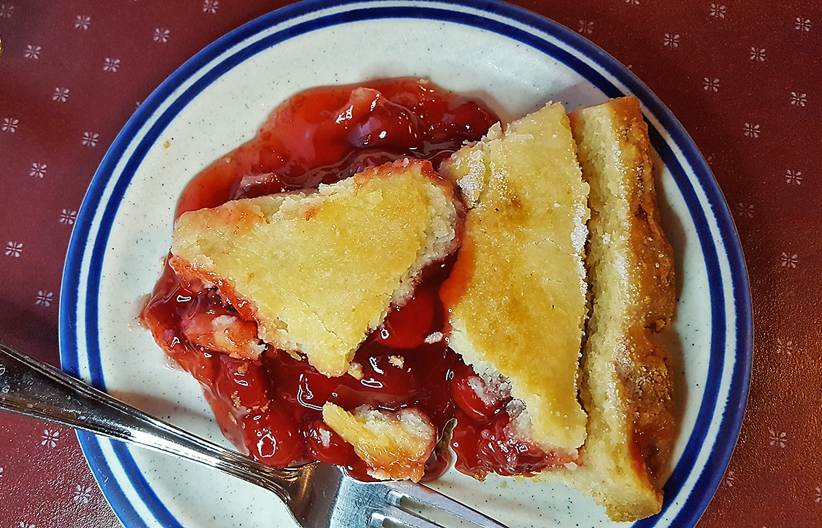 cherry pie at Doyle's