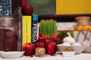 Novruz table setting