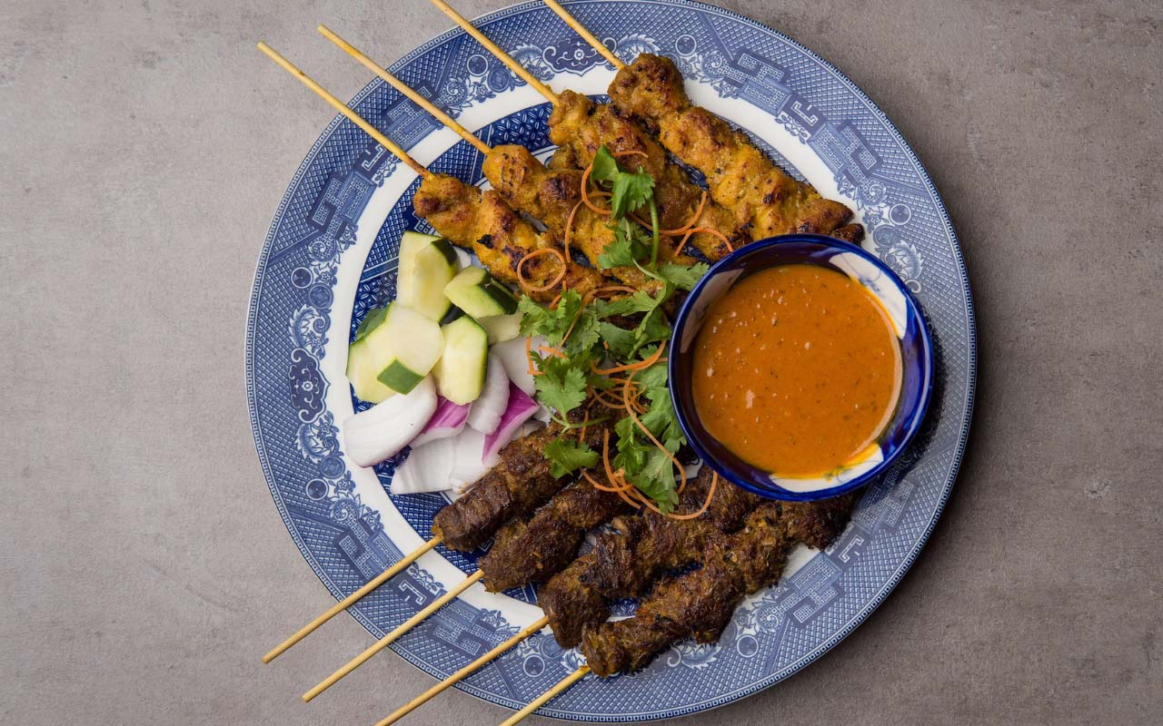 Phat Eatery 20180624 Cmc 5768 Chicken And Beef Satay Skewers Photo Images, Photos, Reviews