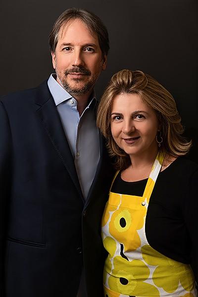 Luis Mancera and Monica Fallone