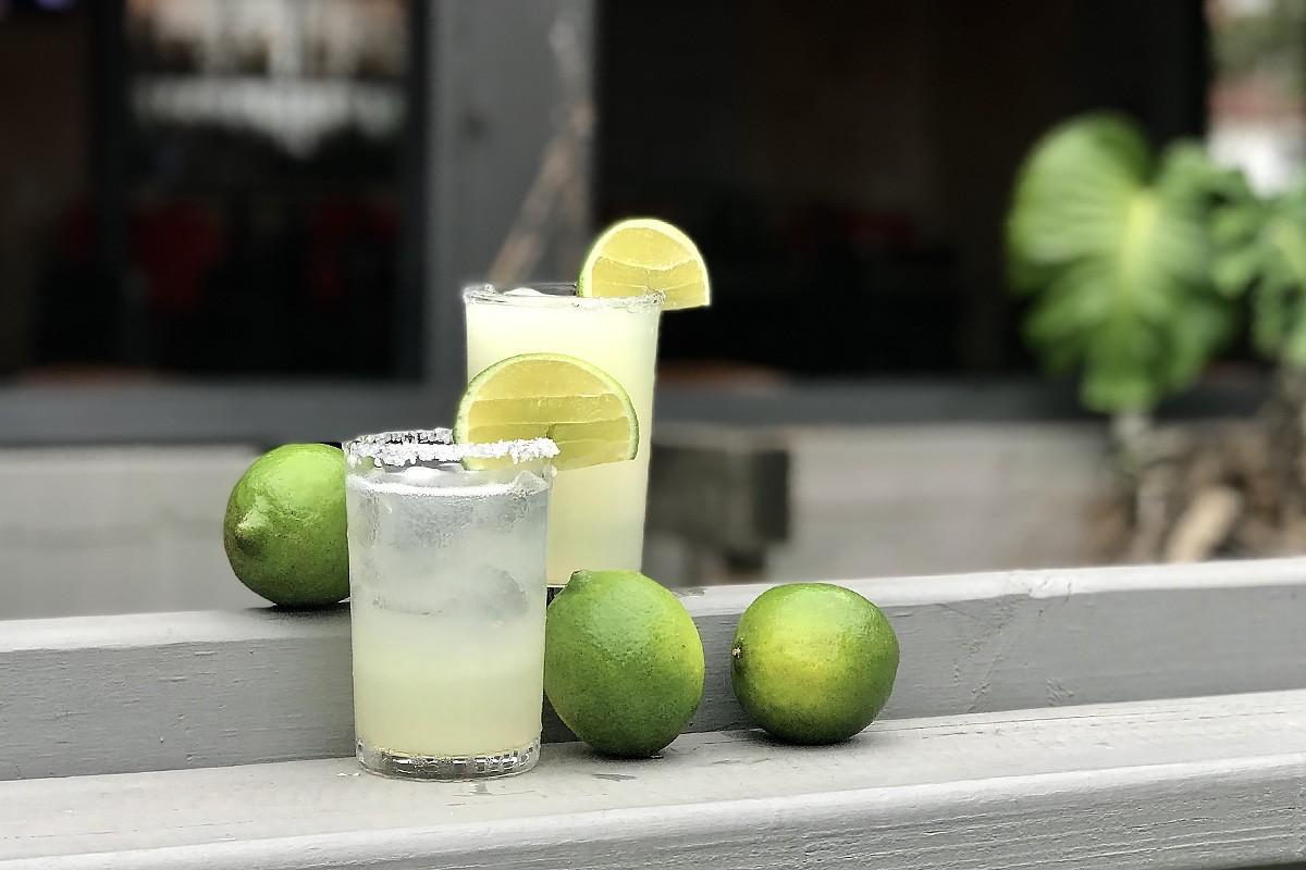 Margaritas at La Grange