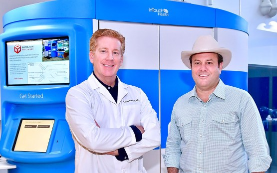 Dr. Toby Hamilton and Levi Goode