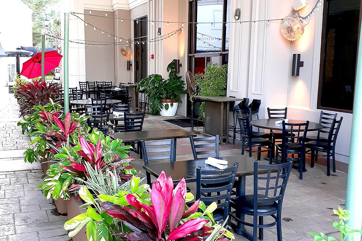 Songkran Thai patio