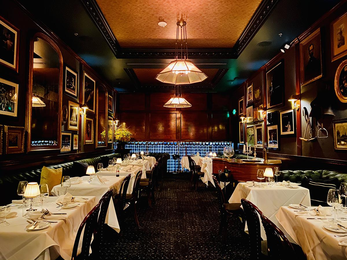 Turner's dining room