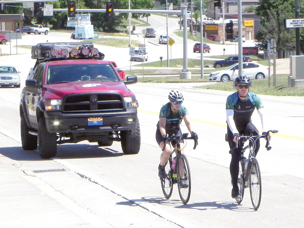 picture of bicyclists