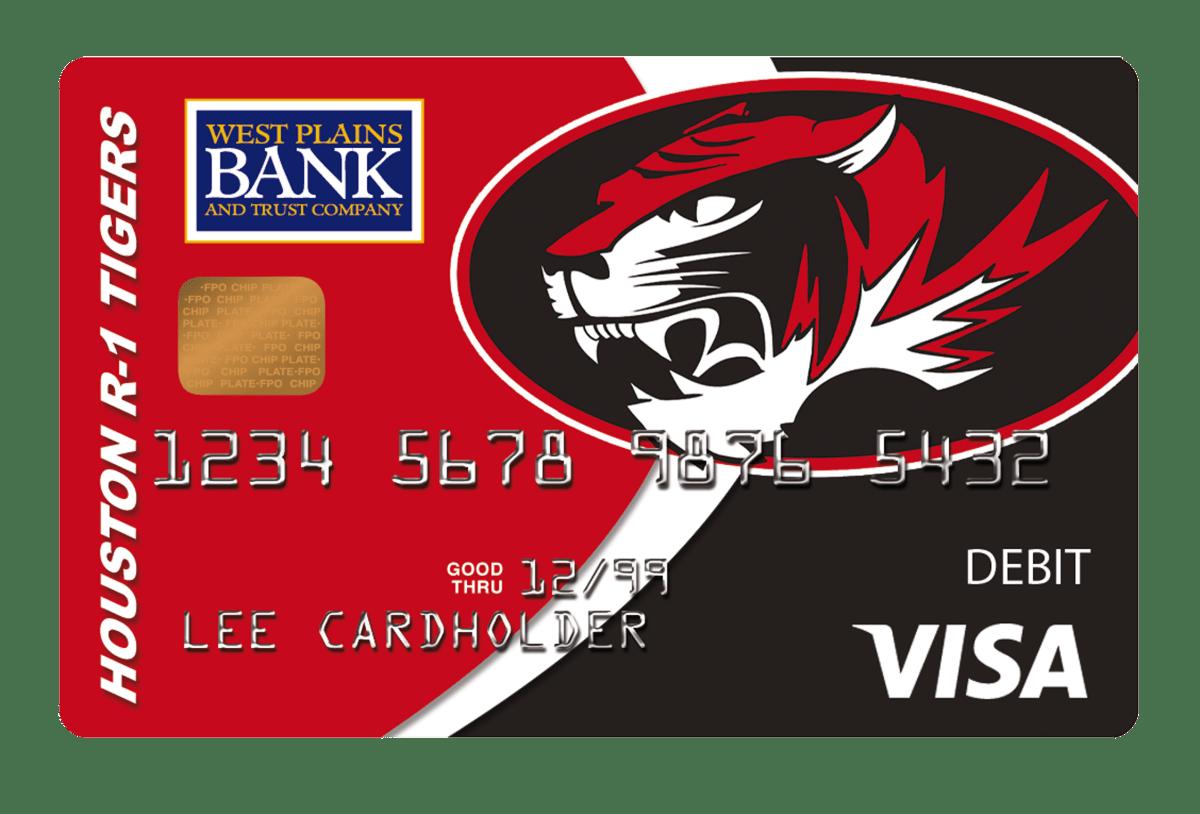 West Plains Bank Tiger Card
