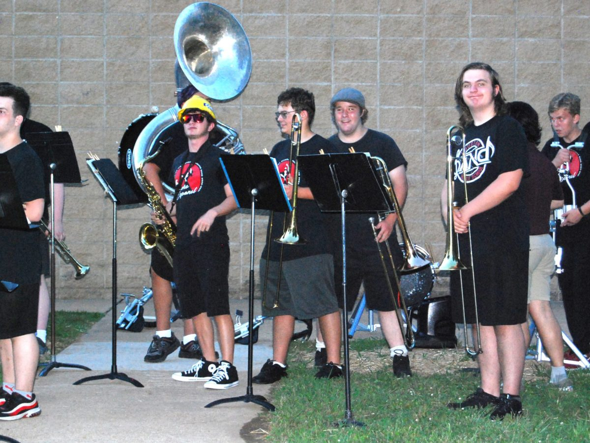Picture of band concert