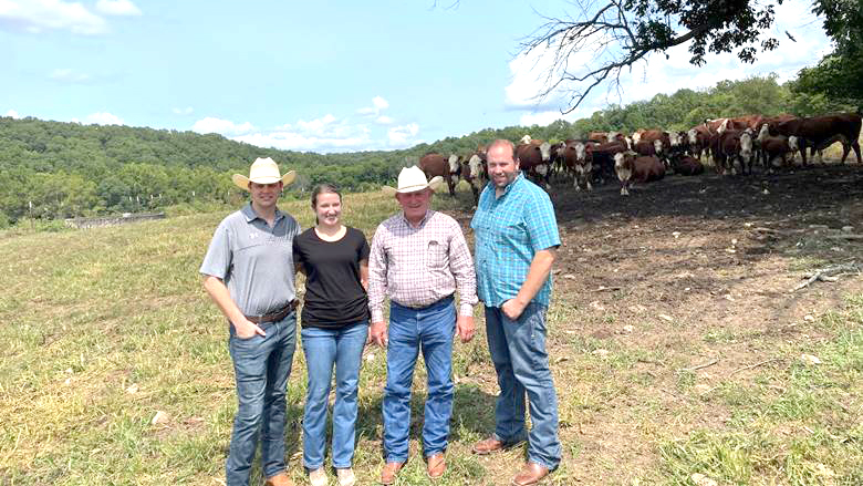 Picture of Rep. Smith tour at WPH ranch