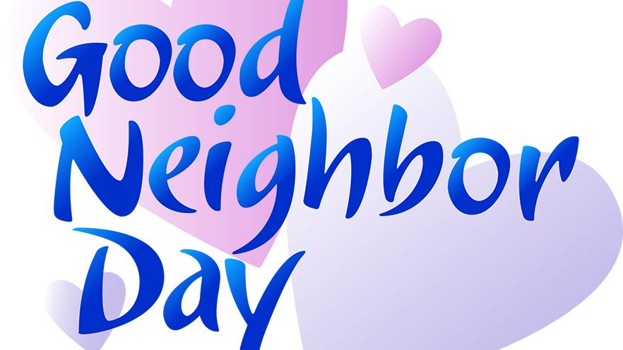 Good Neighbor Day artwork