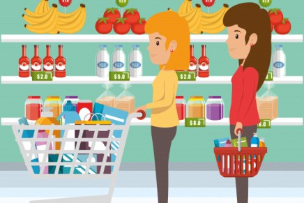 Shopping Distancing: People Need to Keep Apart in Stores During COVID-19