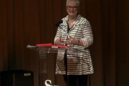 White Addresses University at Annual Faculty, Staff Meeting