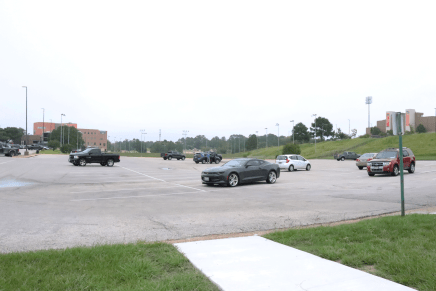 COVID-19 Reduces Campus Parking Sales