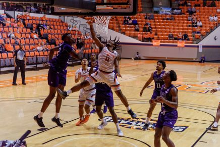 Bearkats lose to Lumberjacks, fall to No. 3 seed in Conference